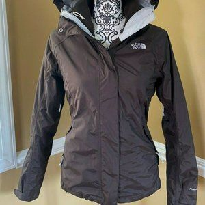 The North Face® - Women's Hyvent 3-in-1 Winter Coat - Brown XS